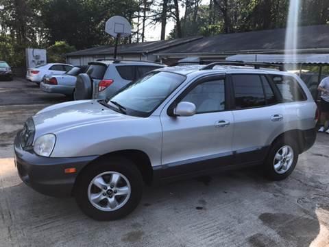 2006 Hyundai Santa Fe for sale in Plainville, GA