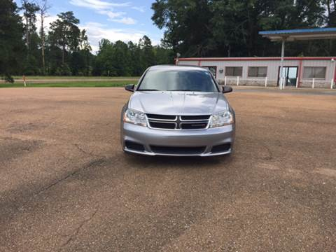 2014 Dodge Avenger for sale at Chambliss Automobile Agency in Fayette MS