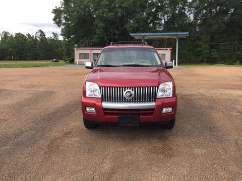 2008 Mercury Mountaineer for sale at Chambliss Automobile Agency in Fayette MS
