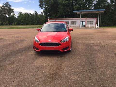 2015 Ford Focus for sale at Chambliss Automobile Agency in Fayette MS