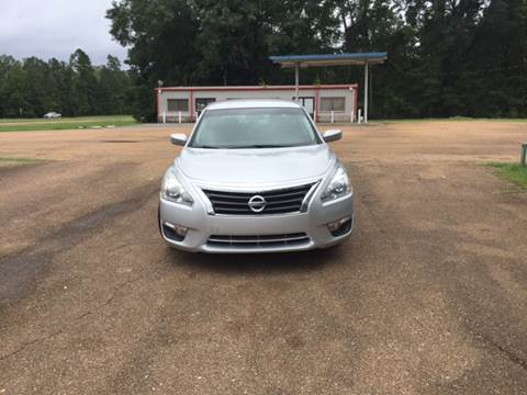 2014 Nissan Altima for sale at Chambliss Automobile Agency in Fayette MS