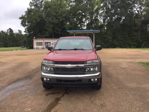 2005 Chevrolet Colorado for sale at Chambliss Automobile Agency in Fayette MS