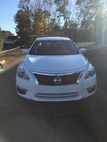 2015 Nissan Altima for sale at Chambliss Automobile Agency in Fayette MS