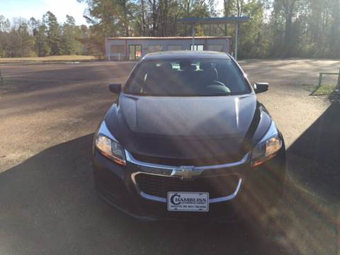 2015 Chevrolet Malibu for sale at Chambliss Automobile Agency in Fayette MS