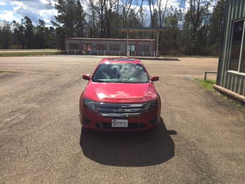2011 Ford Fusion for sale at Chambliss Automobile Agency in Fayette MS