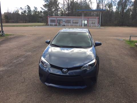 2014 Toyota Corolla for sale at Chambliss Automobile Agency in Fayette MS