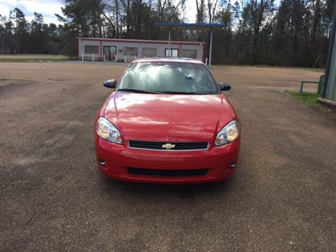 2006 Chevrolet Monte Carlo for sale at Chambliss Automobile Agency in Fayette MS