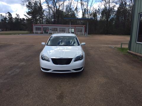 2014 Chrysler 200 for sale at Chambliss Automobile Agency in Fayette MS