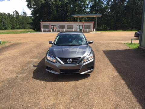 2016 Nissan Altima for sale at Chambliss Automobile Agency in Fayette MS