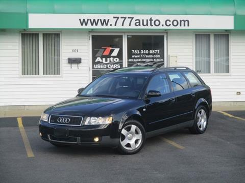 2002 Audi A4 for sale in South Weymouth, MA