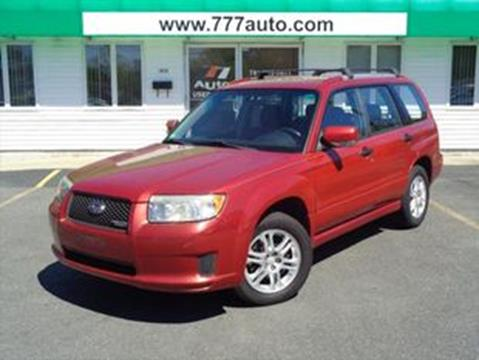 2008 Subaru Forester for sale in South Weymouth, MA