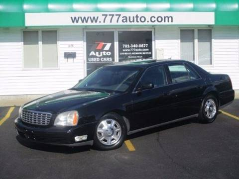 2005 Cadillac DeVille for sale in South Weymouth, MA