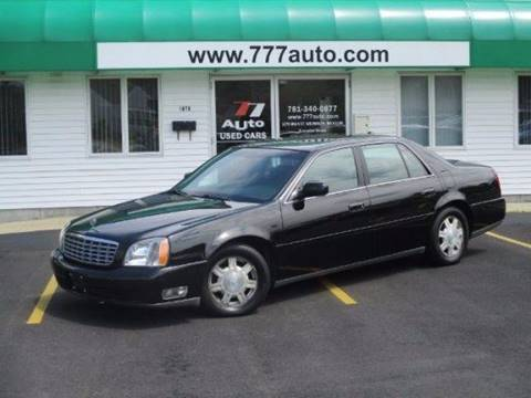 2004 Cadillac DeVille for sale in South Weymouth, MA