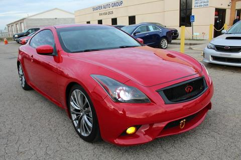 G37 Coupe For Sale >> Infiniti G37 Coupe For Sale In Columbus Oh Shafer Auto Group