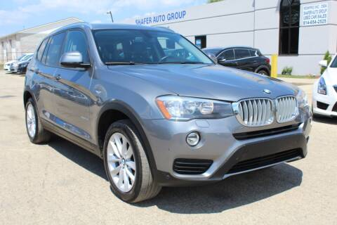 2017 BMW X3 for sale at SHAFER AUTO GROUP in Columbus OH