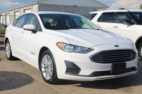 2019 Ford Fusion Hybrid for sale at SHAFER AUTO GROUP in Columbus OH
