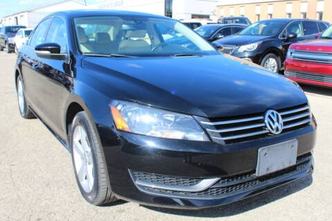 2013 Volkswagen Passat for sale at SHAFER AUTO GROUP in Columbus OH