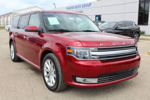 2019 Ford Flex for sale at SHAFER AUTO GROUP in Columbus OH