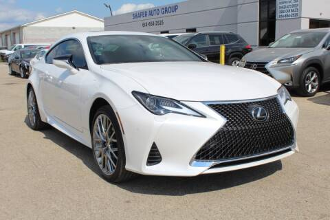 2019 Lexus RC 300 for sale at SHAFER AUTO GROUP in Columbus OH