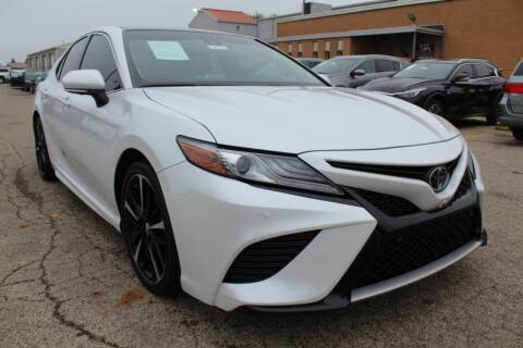 2018 Toyota Camry for sale at SHAFER AUTO GROUP in Columbus OH