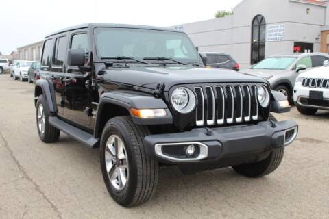 2020 Jeep Wrangler Unlimited for sale at SHAFER AUTO GROUP in Columbus OH