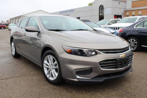 2017 Chevrolet Malibu for sale at SHAFER AUTO GROUP in Columbus OH