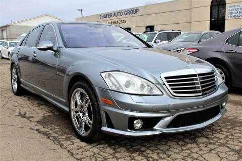 2007 Mercedes-Benz S 65 AMG for sale at SHAFER AUTO GROUP in Columbus OH