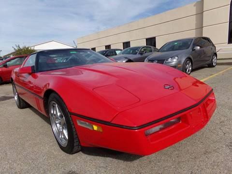 1987 Chevrolet Corvette Red Convertible - Corvette Fever Magazine