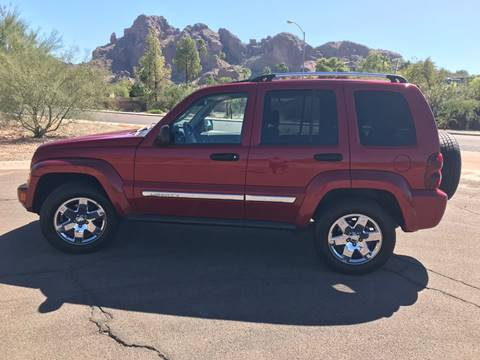 2006 Jeep Liberty for sale at KZ Auto in Phoenix AZ
