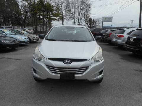 2010 Hyundai Tucson for sale at Elite Motors in Knoxville TN