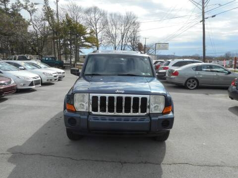 2008 Jeep Commander Sport for sale at Elite Motors in Knoxville TN