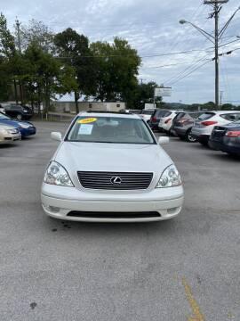 2001 Lexus LS 430 for sale at Elite Motors in Knoxville TN