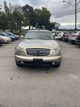 2003 Infiniti FX45 for sale at Elite Motors in Knoxville TN