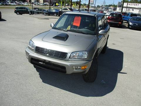 2000 Toyota RAV4 for sale at Elite Motors in Knoxville TN