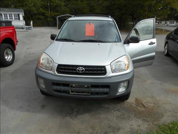 2002 Toyota RAV4 for sale at Elite Motors in Knoxville TN