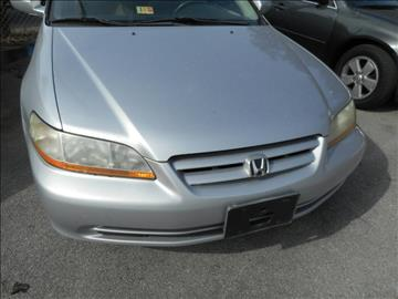 2002 Honda Accord for sale at Elite Motors in Knoxville TN