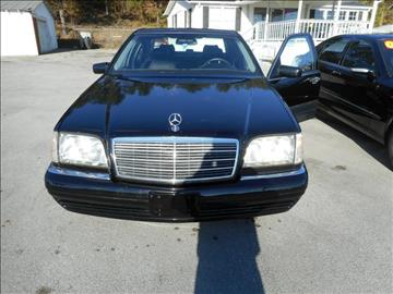 1999 Mercedes-Benz S-Class for sale at Elite Motors in Knoxville TN