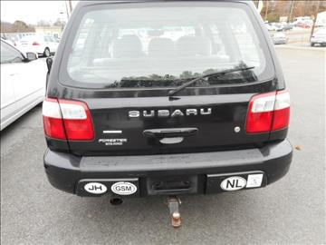 2001 Subaru Forester for sale at Elite Motors in Knoxville TN