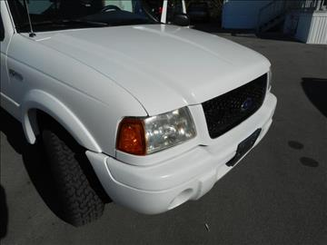 2002 Ford Ranger for sale at Elite Motors in Knoxville TN