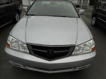 2002 Acura TL for sale at Elite Motors in Knoxville TN