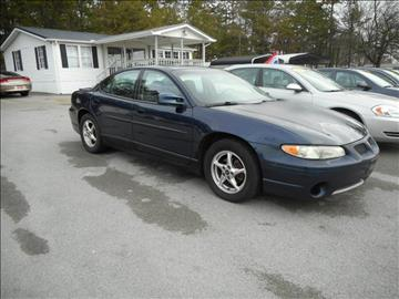2002 Pontiac Grand Prix for sale at Elite Motors in Knoxville TN