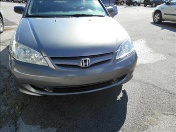 2004 Honda Civic for sale at Elite Motors in Knoxville TN