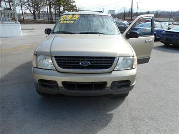 2002 Ford Explorer for sale at Elite Motors in Knoxville TN