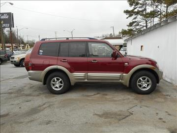 2002 Mitsubishi Montero for sale at Elite Motors in Knoxville TN
