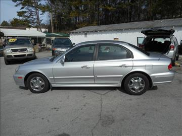 2003 Hyundai Sonata for sale at Elite Motors in Knoxville TN