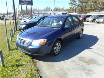 2007 Kia Spectra for sale at Elite Motors in Knoxville TN