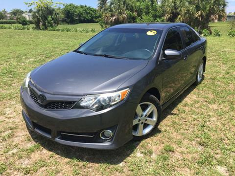 2014 Toyota Camry for sale in Deerfield Beach, FL
