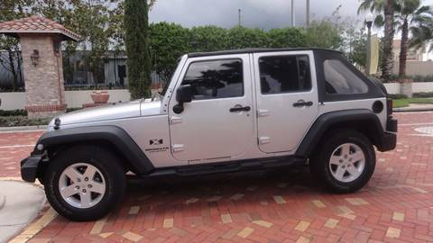 2008 Jeep Wrangler Unlimited for sale in Lutz, FL