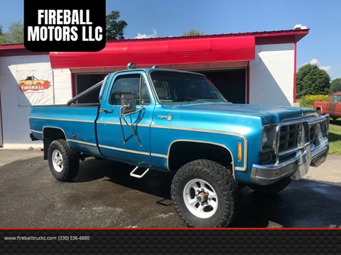 Fireball Truck Sales >> 1977 Chevrolet C K 20 Series For Sale In Lowellville Oh