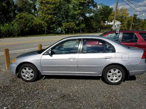 2002 Honda Civic for sale at Auto Discount Center in Laurel MD